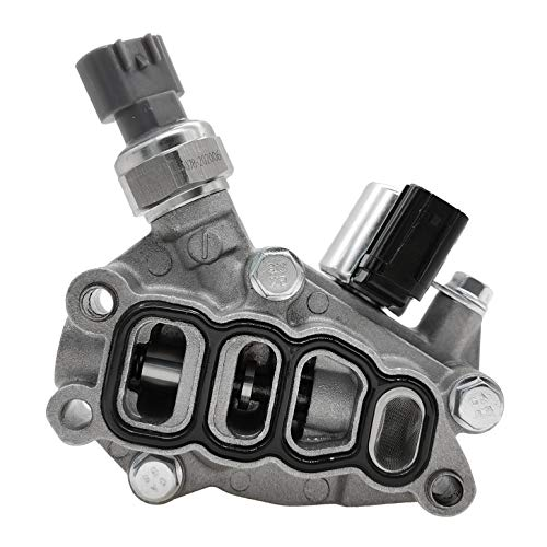 VTEC Timing Solenoid Spool Valve Assembly W/Gasket 15810-RKB-J01 Compatible with Honda Pilot Accord Odyssey