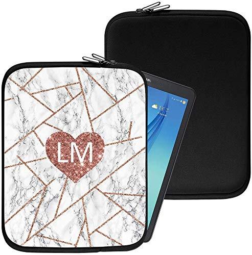 Personalisiert Marmor Neopren Tablethülle Case Tasche (85) für Huawei Honor T1 7.0 (7
