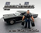 23803 American Diorama Figurine i0170l6xd Musclemen Series I - Wide Willie Figure (1/18 Scale, Black) 0axwpn96 23803 diecast car Model 23803American Diorama Figurine Musclem