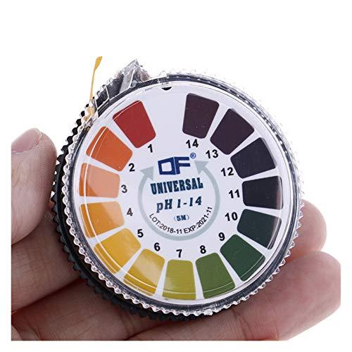 SYHML-SHOP Tiras De Prueba De PH Papel PH 1-14 Tiras Indicadoras De Prueba Papel Tornasol para Agua De Suelo Jabón Kit De Papel para Acuarios (Color : B)