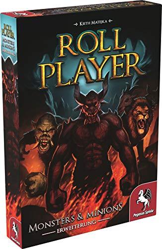 Pegasus Spiele 51306G - Roll Player: Monster & Minions (Erweiterung)
