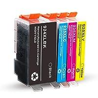 互換性のあるインクカートリッジHP934XL HP935XL、HP934XL HP934XL HP935XL用の交換ブラックとカラーHP OfficeJet Pro 6230 6830 6812 6815 Pro 6835プリンタ