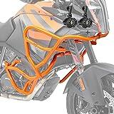 Set Defensas + Faro Adicional para XL KTM 1290 Super Adventure R/S/T 17-20 Naranja