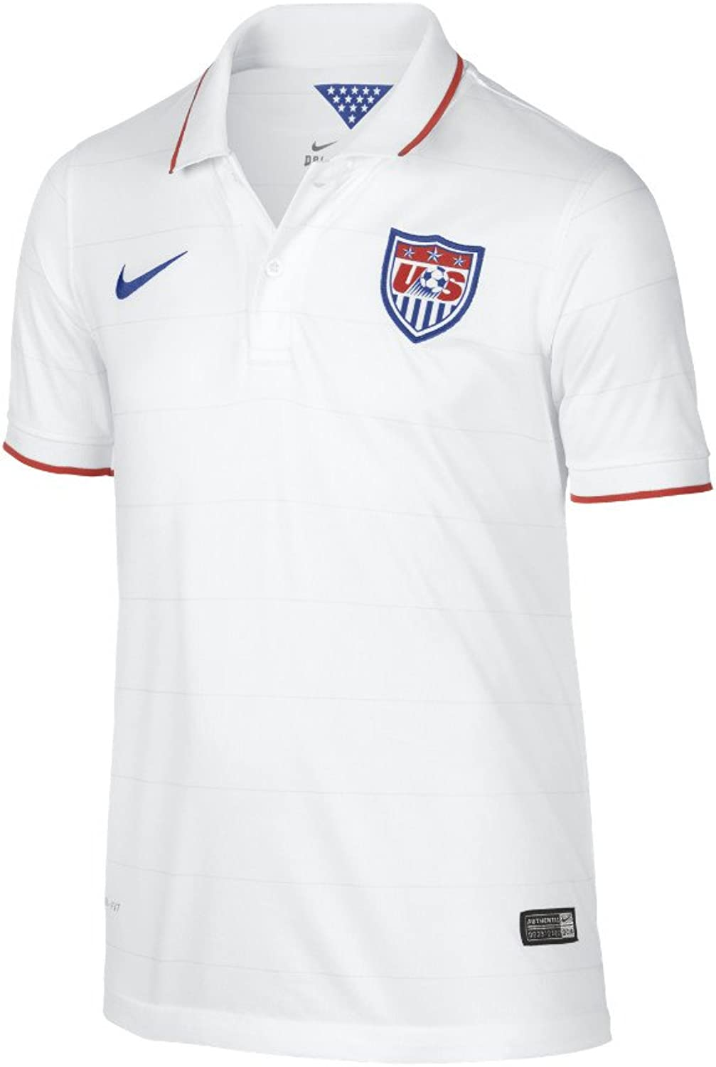 Nike Men's A Home Soccer Jersey Extra Large Youth Extra Large White