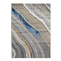じゅうたん- 現代のミニマリストの環境基準カーペットリビングルームクロークベッドルームノンスリップカーペット/厚さ1センチメートル (Color : Noise H, Size : 2mx2.9m)