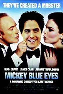 Mickey Blue Eyes Hugh Grant Jeanne Tripplehorn Poster