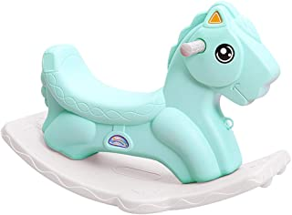 55496d280 LINGZHIGAN Juguete del Caballo de Troya para niños Plástico para bebés de  Doble Uso 1-