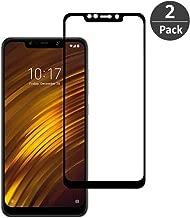 FiiMoo Vetro Temperato per Xiaomi Pocophone F1 【2 Pack】 [3D Copertura Completa][Durezza 9H][Case Friendly][Anti-graffio], Pellicola Protettiva Protezione Schermo per Pocophone F1
