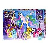 CCFA TIK Tok My Little Pony Puzzle, Rompecabezas Educativo De Avión De Papel para Niños, Ayuda Al Entrenamiento del Pensamiento Cerebral De Los Niños, Bonito Regalo para Los Niños D
