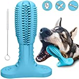 RUCACIO Hunde zahnbürste Hundespielzeug Dog Toothbrush Hunde zahnen Kauspielzeug Hunde Zahnpflege Naturkautschuk Hund Kauen Zahnreiniger Zahnbürste Zahnreinigung Geschenk