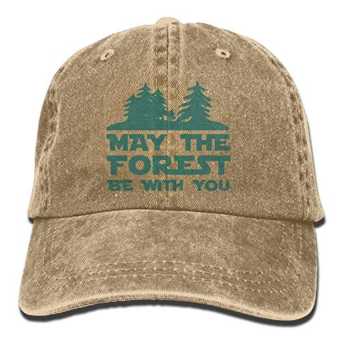 errterfte May The Forest Be with You Cotton Hat Personalized Hat Comfortable Adjustable