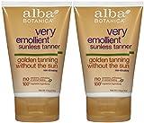 Alba Botanica Alba botanica sunless tanning lotion-4 oz, 2 pack by alba botanica