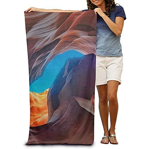 Toalla de Playa Envolvente Antelope Canyon Toallas absorbentes de Secado rápido SPA Traje de baño Toalla de baño y Ducha Manta de Playa