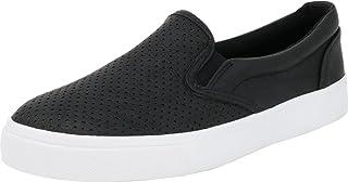 Soda Women`s Preforated Slip On Sneakers