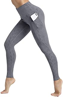 CLUCI Yoga Leggings High Waist for Women with Pockets Workout Pants Tummy Control Non-See Through 4 Way Stretch