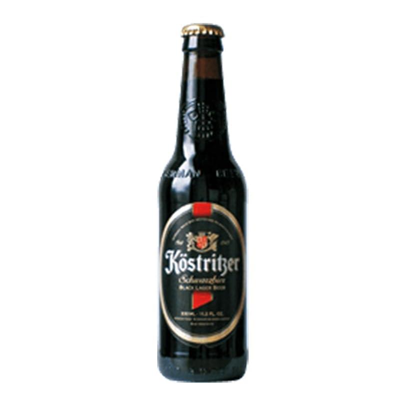 分類うなずく寄稿者ケストリッツァー シュヴァルツビア 4.8度 330ml 24本セット(1ケース) 瓶 ドイツ ビール [並行輸入品]