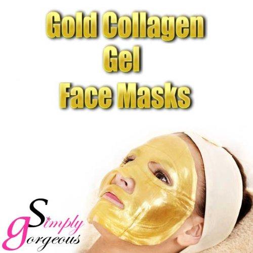 Masque 10 x or Bio Collagène Cristal