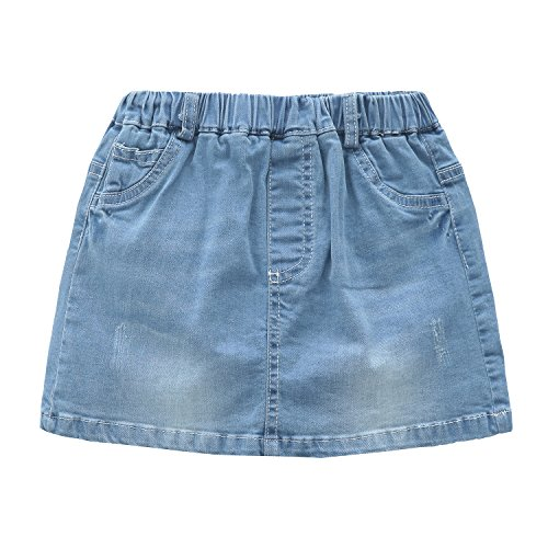 Girls Jean Skirt - 8