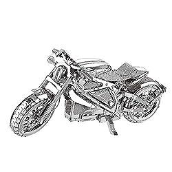 MTU 2018 3D Metall Puzzle Avenger Motorrad Motorcycle Modell Kits I22203 DIY 3D Laserschnitt Modell-Bausatz Spielzeug