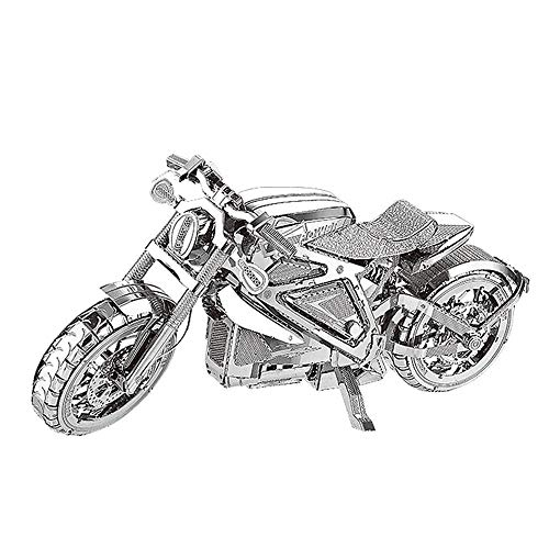 Avenger Motocicleta Maqueta de Metal Kits DIY 3D metal puzzle laser cut models, Rompecabezas de metal I22203