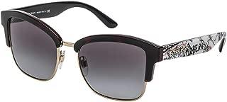 Burberry Half Frame Sunglasses For Women, Grey - BE4265 37248G54