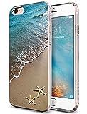 Case Snap on iPhone 6S Plus 2015 5.5 Inch Beautiful Beach Scene