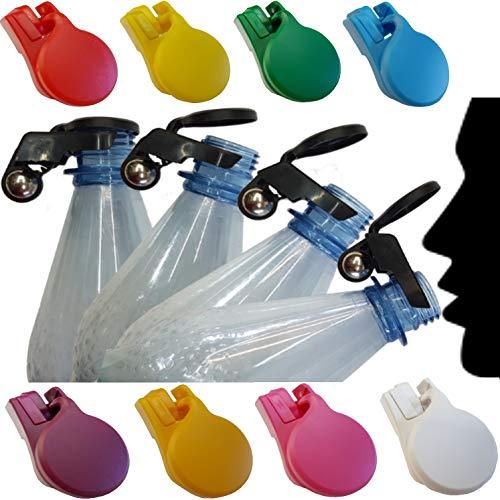 BierEx 9X TipClip Vollautomatischer Flaschenverschluss Flaschen mit Kronkorken Schraubverschluss Glasflaschen anstatt Kapseln 9X