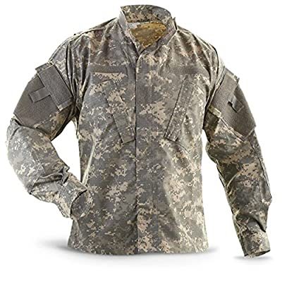 Military Outdoor Clothing Previously Issued ACU Jacket, Small/Regular, Camouflage