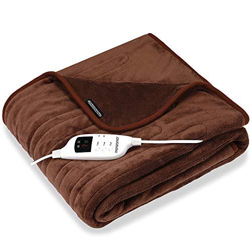 Deuba Manta eléctrica 9 Niveles de Calor Temporizador y Con