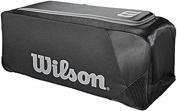 Wilson Sporting Goods Team Gear Bag on Wheels, Black