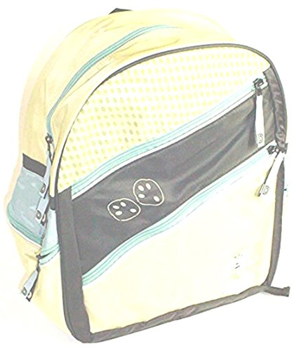 Depesche 3697 - Diddl Rucksack Footsteps ca. 36cm (Höhe) x 28cm (Breite) x 13cm (Tiefe), Zwei Außentaschen vorne, jeweils eine Außentasche an den Seiten, alle Außentaschen mit Reißverschluß