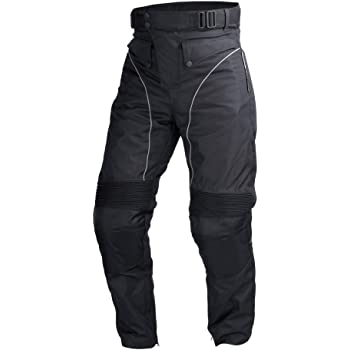 Black, WAIST//40 Alpha Cycle Gear Leather Motorcycle Pant for Bikers Rider Moto Sports Real Cowhide Leather for Men