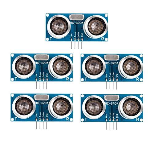 Amazon.com - 5pcs HC-SR04 Ultrasonic Sensor Module