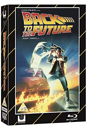 Back To The Future Blu Ray / VHS Packaging Limited Edition / Blu Ray+DVD+Theatrical Poster / Import / Region Free Blu Ray