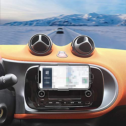 bester Test von smart forfour brabus WXQYR Car Handy-Navigationshalterung Drahtloses Ladegerät 10 W Schnellladung für Smart Brabus…