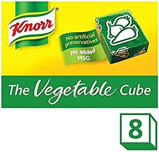 Knorr Vegetable Stock Cubes - 8 x 10g