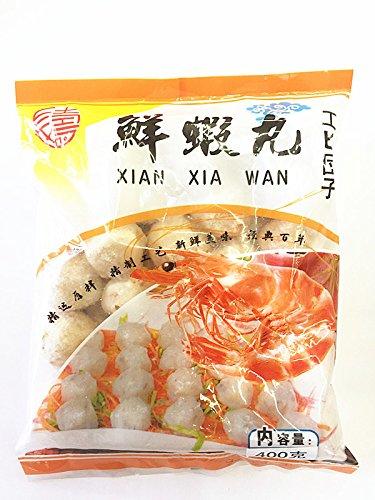 鮮蝦丸(蝦・海老団子・エビだんご)?丸  中華料理人気商品・煮込み・しゃぶしゃぶ・鍋 火鍋食品 冷凍食品 クール便で1個口として発送します。
