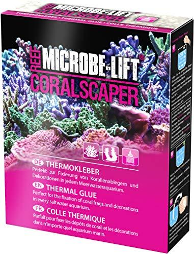 MICROBE-LIFT Coralscaper - Thermo Korallenkleber, Biopolymer Kleber, einfache Handhabung, perfekt zur Verwendung in jedem Meerwasseraquarium, 500ml / 350g
