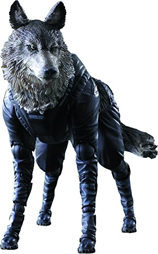 Square Enix Metal Gear Solid V: The Phantom Pain: D-Dog Play Arts Kai Action Figure