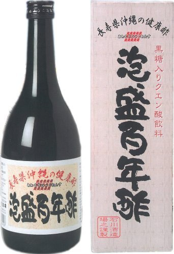 沖縄 泡盛百年酢 720ml ×12本 もろみ酢 黒糖入り