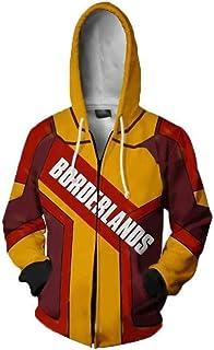 Maglietta Borderlands 3 Felpa con Cappuccio Colletto Tondo Unisex Felpe Cosplay Top Stampati 3D