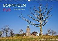 Bornholm Pur (Wandkalender 2022 DIN A3 quer): Die Insel Bornholm und die Erbseninseln (Monatskalender, 14 Seiten )