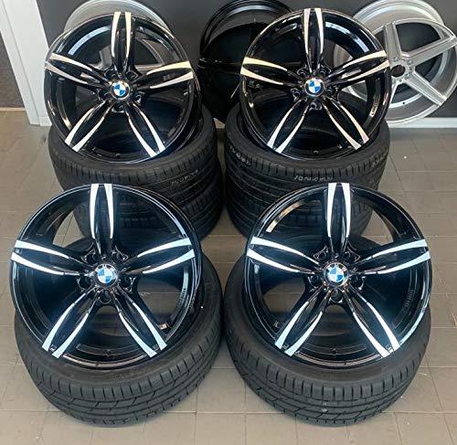 4 x 19 Zoll Damina Performance DM03 Alu Felgen schwarz poliert für 3er E36 E46 E90 E91 E92 F31 F31 3er E36 E46 E90 E91 E92 E93 F30 F31 4er F32 F33 F36 M4 335 435 M-Paket M-Performance CSL NEU