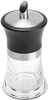 Jeffergarden Sucrier doseur,Distributeur Pot à sucre Ménage Acrylique Bocal Sugar Bowl Dispenser Sucre 304 Bordure En Acie...