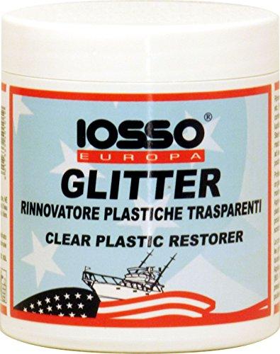 Iosso Glitter, Pasta Lucidante per Plastiche Trasparenti, 250 ml