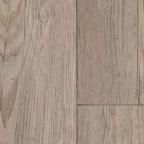 PVC Vinyl-Bodenbelag Landhaus Winterpinie | CV PVC-Belag verfügbar in der Breite 300 cm & Länge 600 cm | CV-Boden wird in benötigter Größe als Meterware geliefert & trittschalldämmend