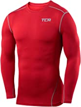 Best youth red long sleeve compression shirt Reviews