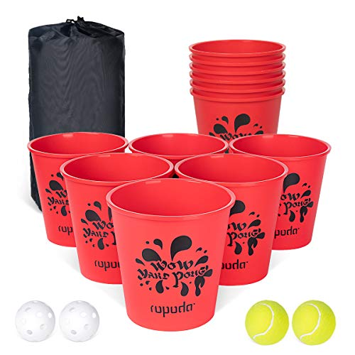 ROPODA Yard Pong – Giant Pong Game Set Outdoor for The Beach, Camping, Lawn and Backyard