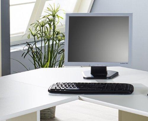 Büroeinrichtung Büromöbel Büro Weiß Eckschreibtisch Bürocontainer Aktenschrank Regal Schreibtisch (Eckplatte Weiß)