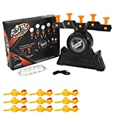 Floating Ball Shooting Game Air Hover Shot Floating Target Game, Floating Ball Shooting Game For Kids With Foam Dart Toy Gun, 9 Floating Ball Targets, And 5 Flip Targets (A)